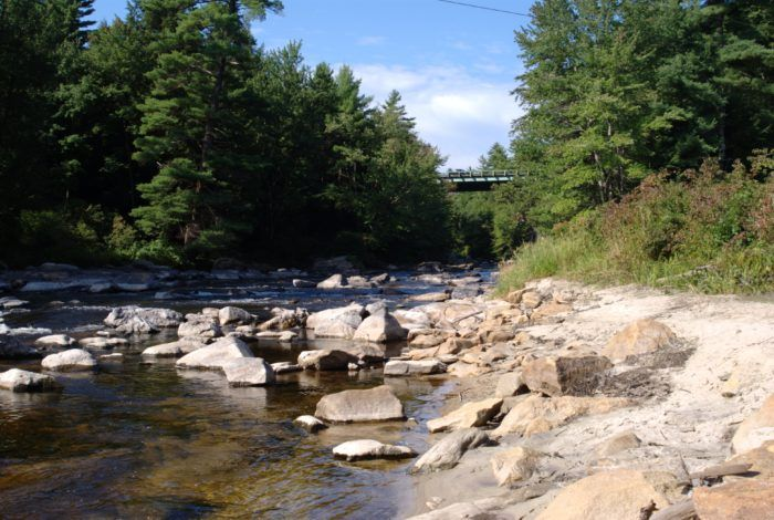 Souhegan River...This tributary of the Merrimack flows from New Ipswich until it joins with the Merrimack past the Everett Turnpike and US Route 3. It provides drinking water and hydropower to area residents, and people love to relax on its banks.