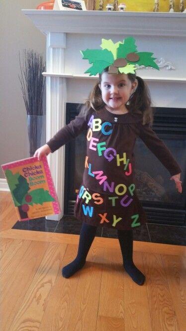 Book Themed Costume Chika Chika Boom Boom!