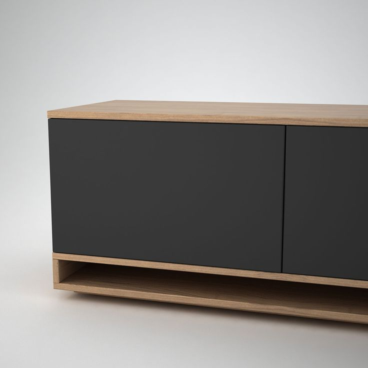 Harlem Low Sideboard (2) Anthracite - Join Furniture