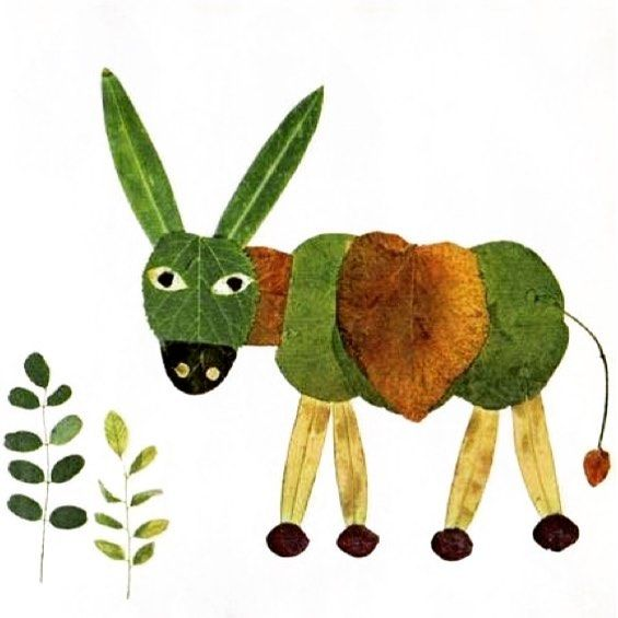 It's the autumn! Time to pick up some fallen #leaves and create some #animal #crafts with your #kids via http://pin.it/m8NXBHm #getcreative #creativeidea #diy #arts #kidscraft