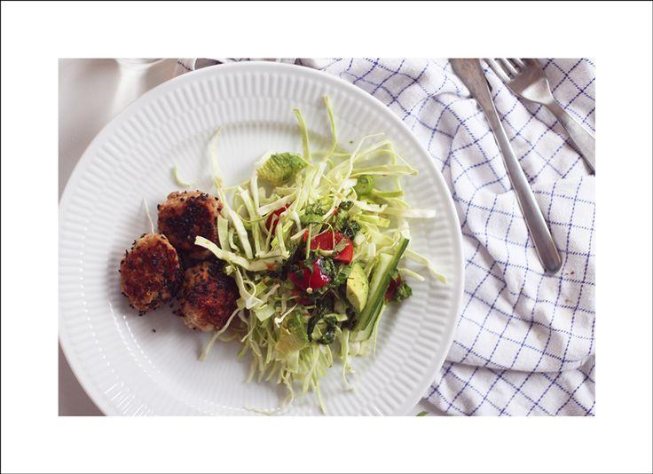 slank-aftensmad-kyllingefrikadeller-kål