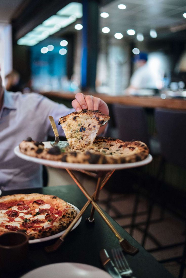 The clam pizza with garlic and the diavola pizza is to die for at Pasquale Jones in New York City SOHO, see more on The Taste SF #travel #nyc #restaurant #localtravel