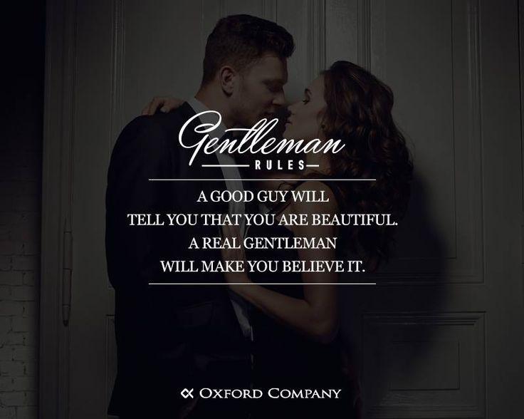 Gentleman Rules! Έτσι τα κοπλιμέντα αποκτούν βάση... Συμφωνείτε;