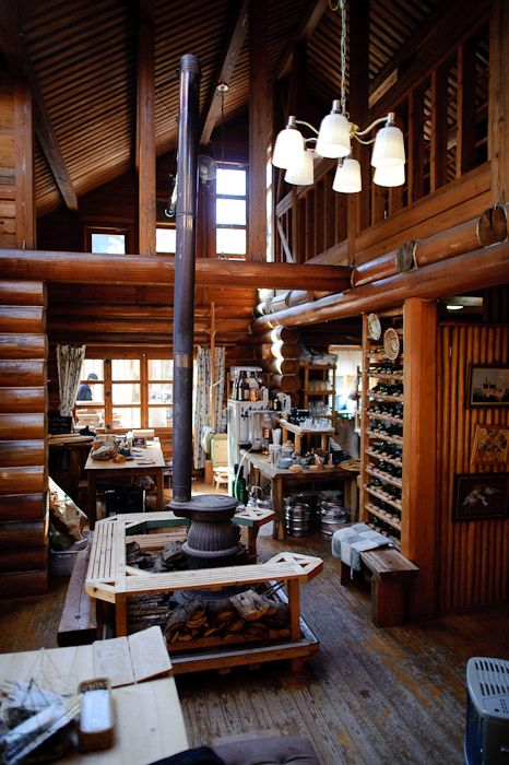 616 best log cabins treehouses images on pinterest wood for Log cabin cafe