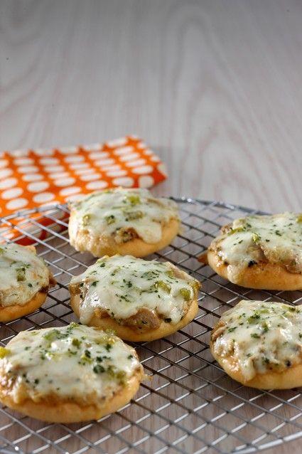 Mini pizza mushroom cheese, rasanya sulit ditolak.