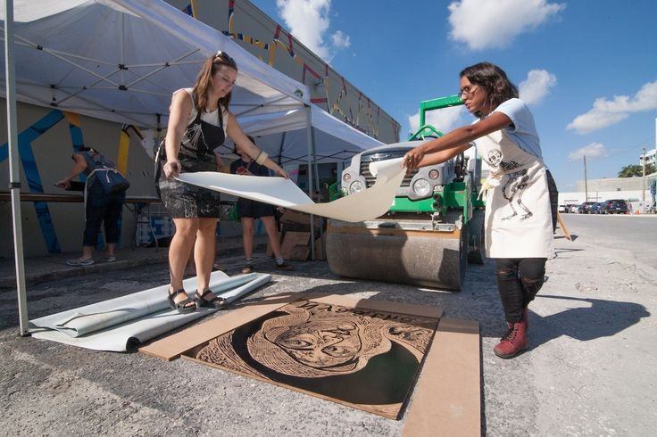 South Florida art aficionados will have the opportunity to delve into the world of printmaking this Saturday at Fort Lauderdale's second edition of the Small Press Fair (SPF). The event will feature the return of crowd-pleasing attractions such as a giant steamroller, as well as new favorites like a postcard-making...