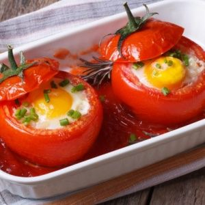 Яичница в помидорах. Про…