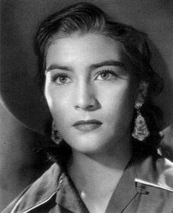 Irma Dorantes (mejor conocida como la esposa de Pedro Infante)
