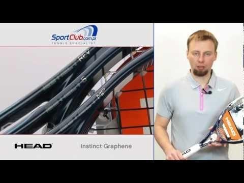 Head Instinct Graphene - Sharapova, Berdych, Cilic - rakiety tenisowe