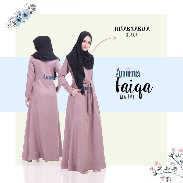 Gamis Amima Faiqa Dress Mauve - baju gamis wanita busana muslim Untukmu yg cantik syari dan trendy . . Size Chart (XS) LD 92 PB 135 (S) LD 96 PB 137 (M) LD 100 PB 139 (L) LD 104 PB 141 (XL) LD 112 PB 144 . . - Material bahan : LINEN BURBERRY LUX seperti katun menyerap keringat dan tidak mudah kusut/lecek ada garis garis serat benang nya sedikit mengkilat bisa buat formal dan daily - Dress yang simple dengan aksen kerah bulat - Manset tangan zipper memudahkan berwudhu - Kantong tersembunyi…