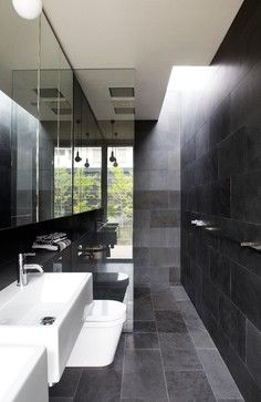 Modern Bathroom Grey And White Bathrooms Design, Pictures, Remodel, Decor and Ideas - page 4