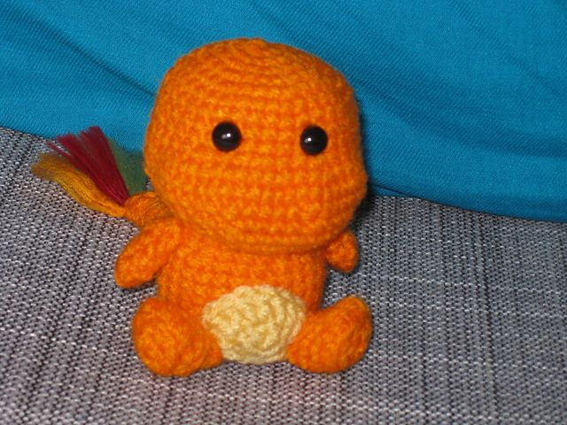 Charmander Amigurumi Free : 1000+ images about Pokemon crafts on Pinterest Chibi ...