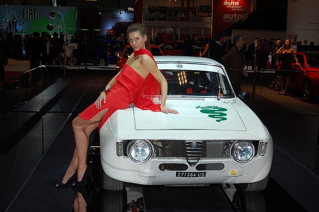 Alfa Romeo Giulia GTA 1300 Junior at Geneva Motor Show