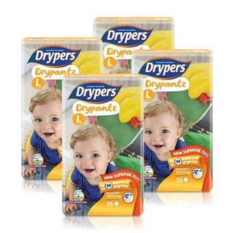 Buy DRYPERS DryPantz L36s 9-14kg - 4 Packs online at Lazada Singapore. Discount prices and promotional sale on all Taped. Free Shipping.