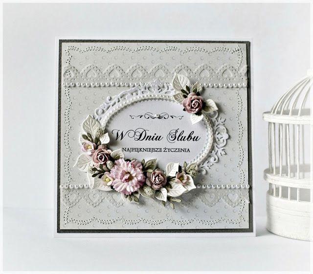 Zoha Projekt: Z okazji ślubu - kartka w pudełku