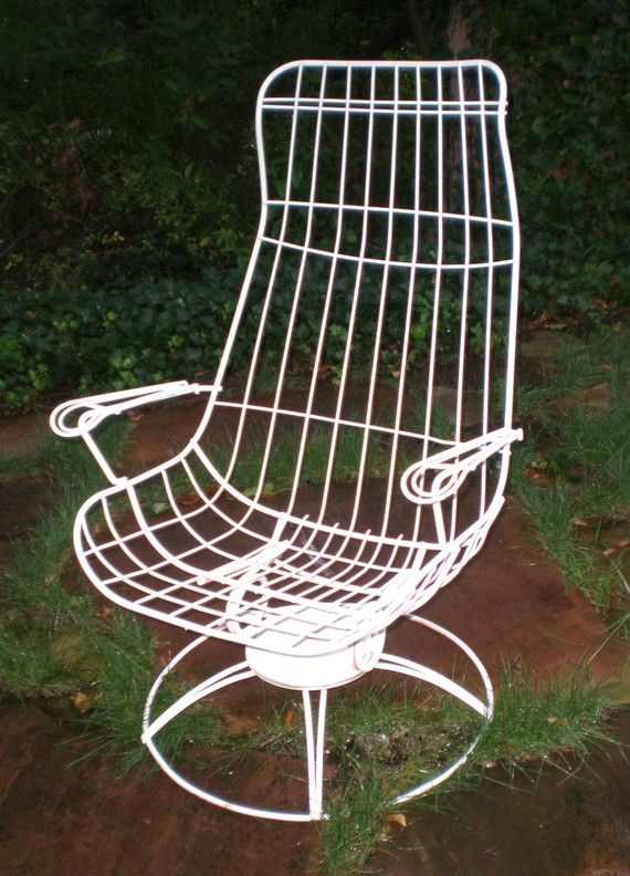 Vintage HomeCrest Siesta Lounge Eames Style Iron Chair