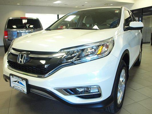 5J6RM3H56FL018677 | 2015 Honda CR-V EX for sale in Newton, MA | CARFAX Image 2