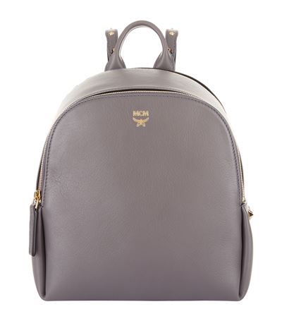 MCM Mini Polke Studded Backpack. #mcm #bags #leather #backpacks #