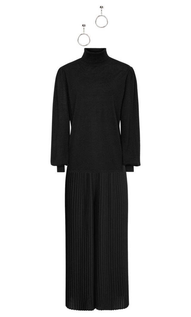 """Black"" by kirsti-salonen on Polyvore featuring Eileen Fisher and Isabel Marant"
