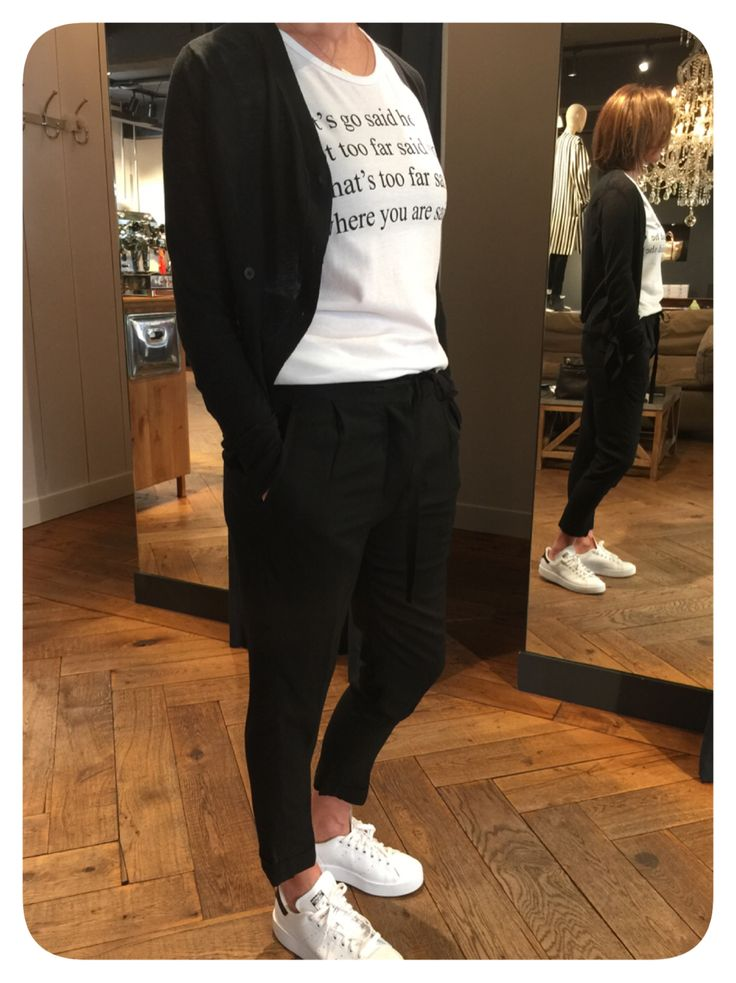 Ann Demeulemeester the casual way.