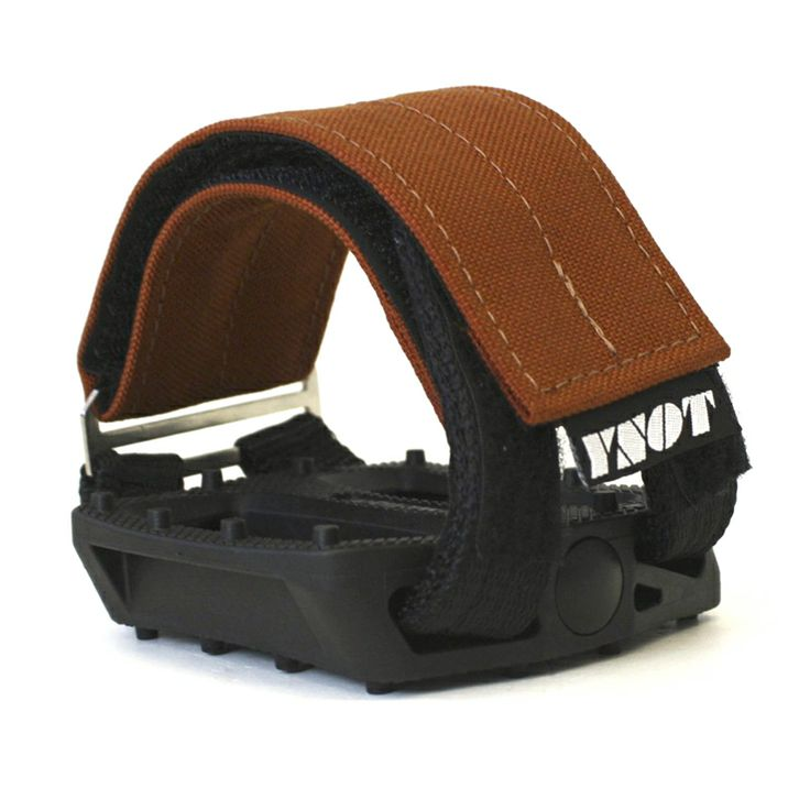 YNOT Cycle | Pedal Straps - Rust