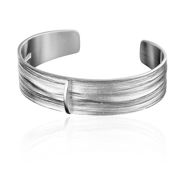 NILE  Design Björn Weckström  / Silver Bracelet / Lapponia Jewelry / Handmade in Helsinki