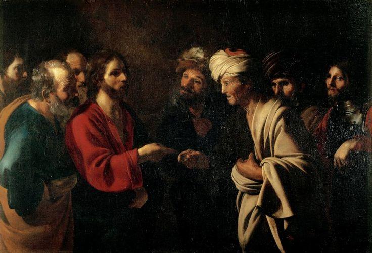 Manfredi Bartolomeo - Tributo della moneta - c. 1610-1622 - Firenze - Galleria degli Uffizi