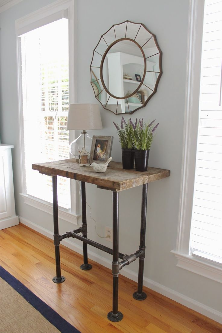 The Smitten Mintons: DIY Iron Pipe Table