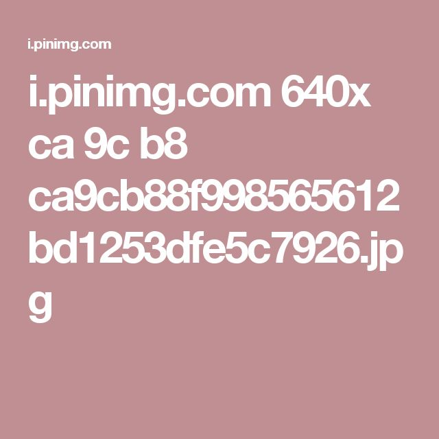 i.pinimg.com 640x ca 9c b8 ca9cb88f998565612bd1253dfe5c7926.jpg