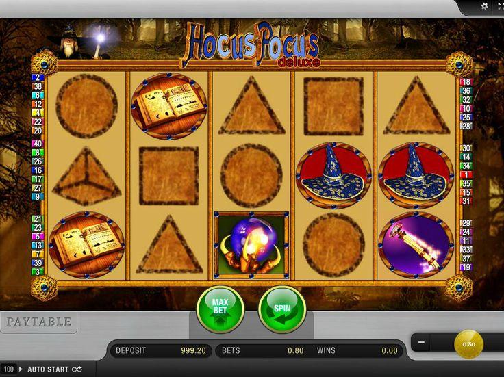 Probiere jetzt unsere Neusten aus kostenlos online Spielautomaten Spiel Hocus Pocus Deluxe - http://freeslots77.com/de/hocus-pocus-deluxe/
