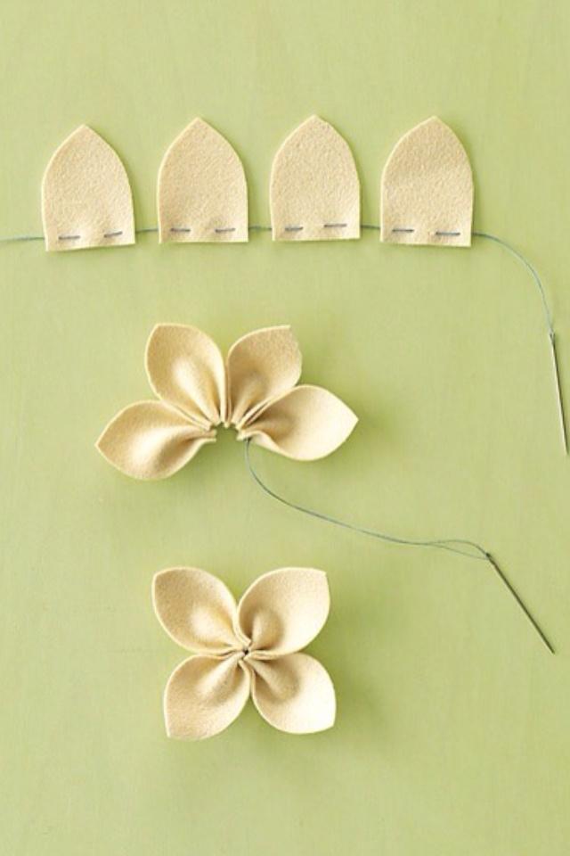 make flowers idea for Doc Mcstuffins headband