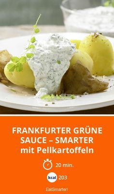 Frankfurter Grüne Sauce – smarter - mit Pellkartoffeln - smarter - Kalorien: 203 Kcal - Zeit: 20 Min. | eatsmarter.de