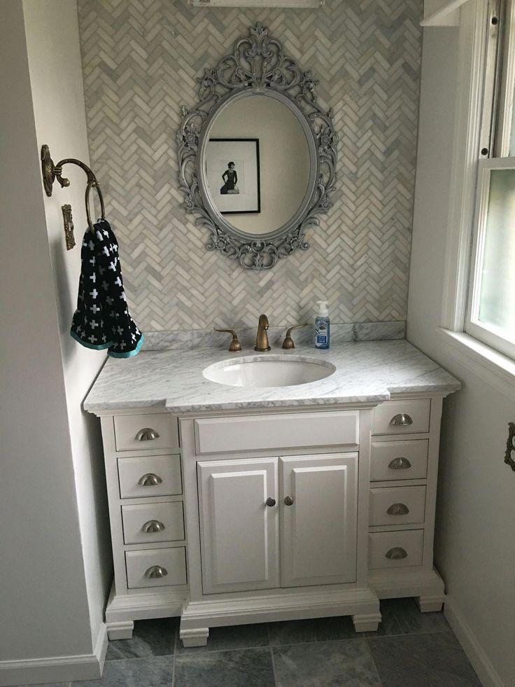 Bathroom vanity splashback what is toggle