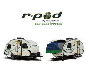 R-Pod Travel Trailers & Hybrid Campers by Forest River RV ***Another option, lightweight and has more room and just as cute as the teardrop T@B