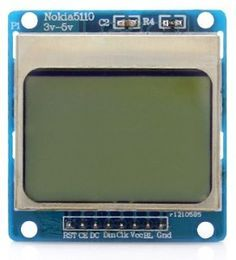 Getting Started with Nokia 5110 LCD and Arduino. #display #helloworld #beginner…