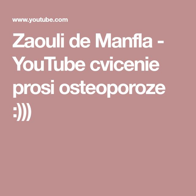 Zaouli de Manfla - YouTube  cvicenie prosi osteoporoze :)))