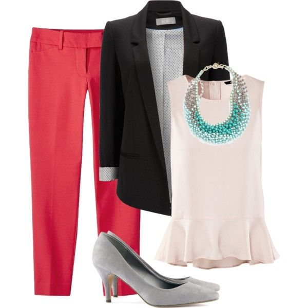Spring work outfit. Without kitten heeels! find more women fashion ideas on www.misspool.com