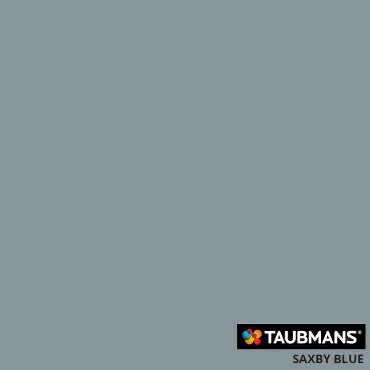 #Taubmanscolour #saxbyblue