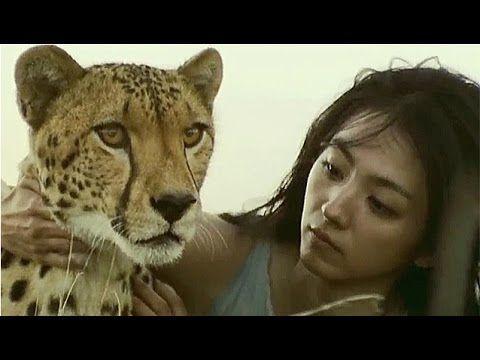 満島ひかり CM カロリーメイト 「人間とチーター」篇 - YouTube