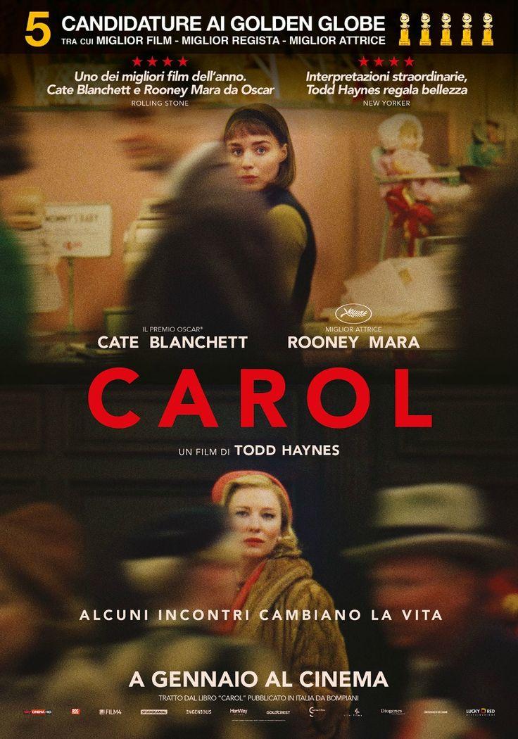 Carol, il film di Todd Haynes con Cate Blanchett, Rooney Mara e Sarah Paulson, dal 5 gennaio al cinema.