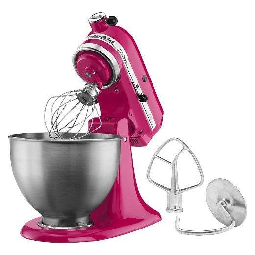 Make up to 6 dozen cookies in a single batch with the KitchenAid® Ultra Power® Series 4.5 Quart Tilt-Head Stand Mixer. This mixer also features 10 speeds to thoroughly mix, knead and whip ingredients quickly and easily. For even more versatility, use the power hub to turn your stand mixer into a culinary center with over 10 optional hub powered attachments, from food grinders to pasta makers and more.