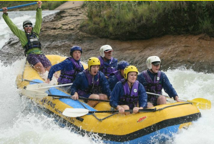 Outrageous Adventures - rafting the ash river ...  not just on the bucket list ... somewhere near the top!