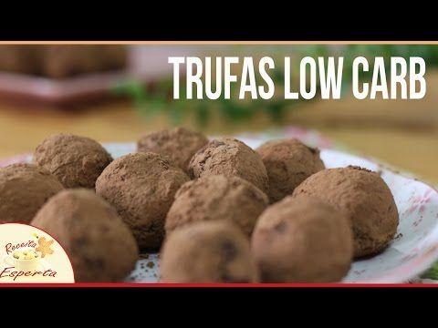 Trufas low carb de tâmaras com castanha