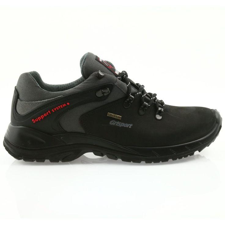 Sprandi Grisport Nordic Walking Czarne Z Membrana Nordic Walking Hiking Boots Boots