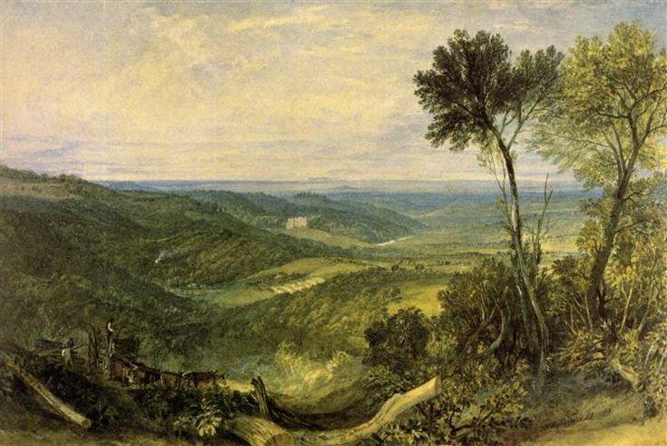 The Vale of Ashburnham - Turner William