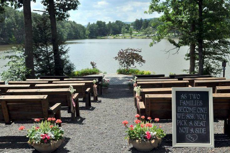 Sweet Arrow Lake Ceremony Site Ellie S Wedding Event