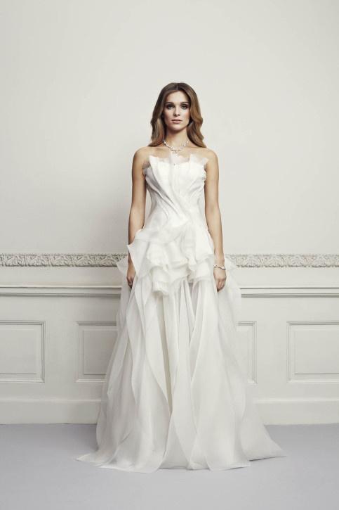 Wedding dress by Maciej Zien