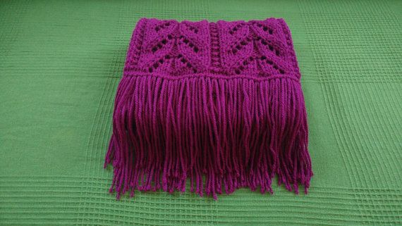 Hey, I found this really awesome Etsy listing at https://www.etsy.com/uk/listing/482153783/purple-knitted-lace-scarf