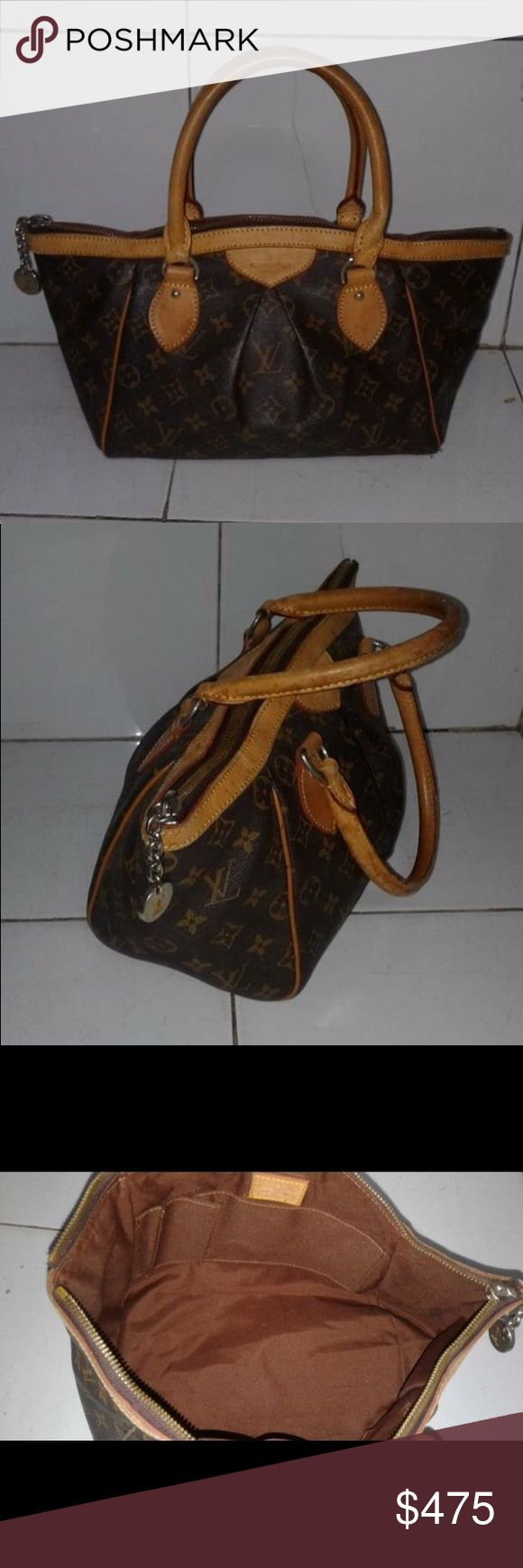 Louis Vuitton Tivoli PM, in Good Condition, Handles shows patina like usual LV Purses, shows signs of usage, hardware is tarnishing, in Excellent shape.. with stampcode/heat code. Louis Vuitton Bags Satchels