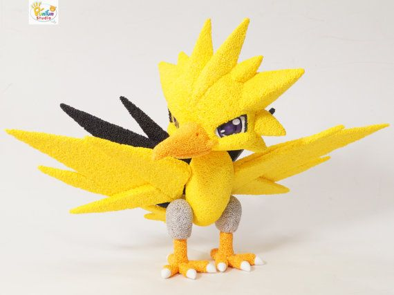 Custom Figurine Made to order / Baby Legendary Thunder Pokemon